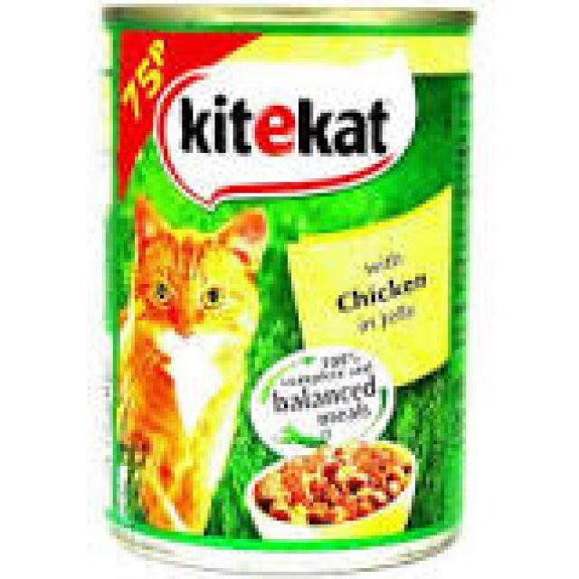 Kitekat Chicken In Jelly 400g Cat Tin Food