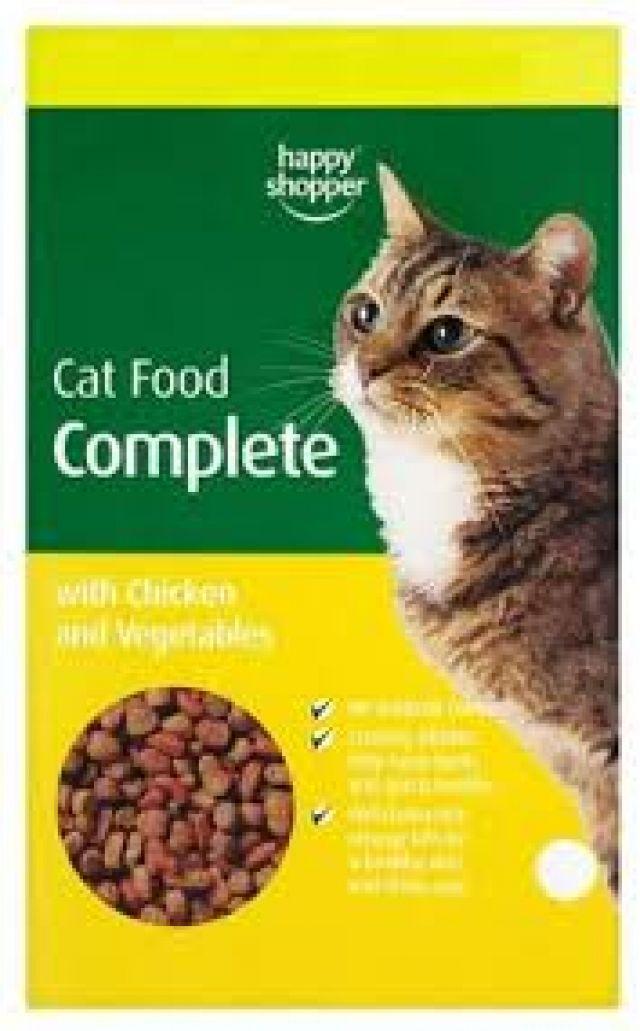 Complete Turkey Chicken & Veg Cat Dry Food Happy Shopper