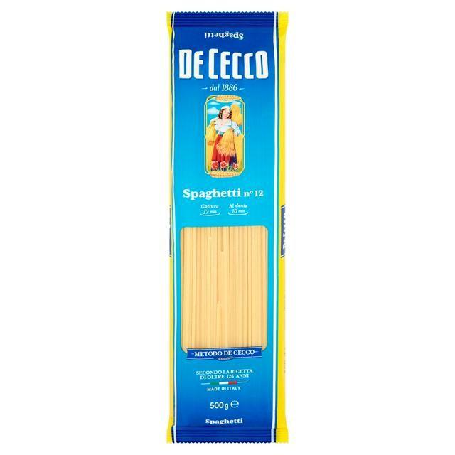 Spaghetti 500g De Cecco