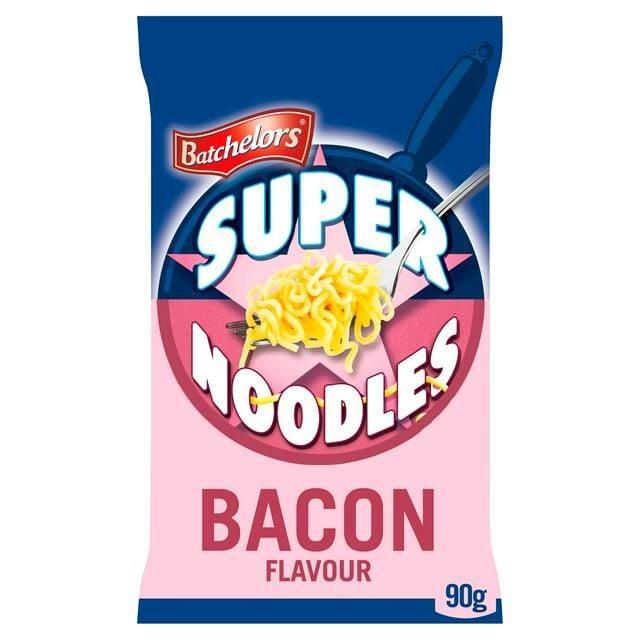 Super Noodles Bacon Batchelors
