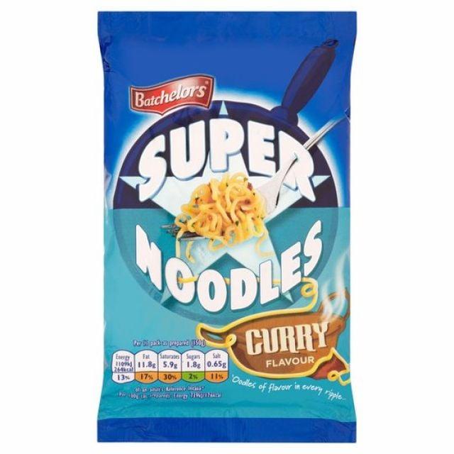 Super Noodles Curry Batchelors