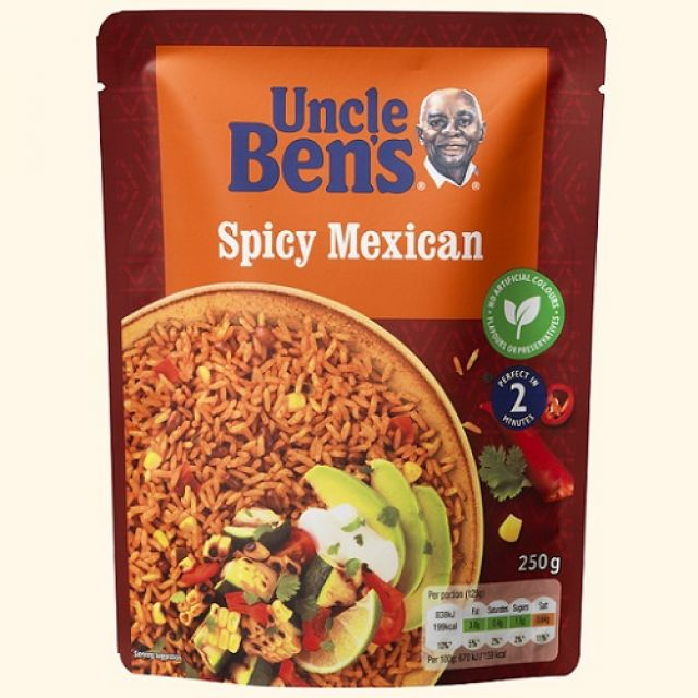Uncle Bens Spicy Mexican Rice 250g
