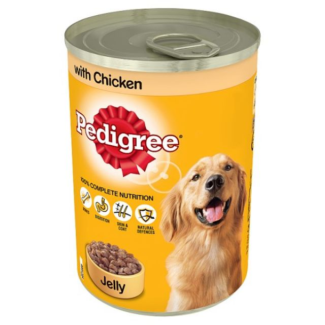 Pedigree Dog Food Chicken Can