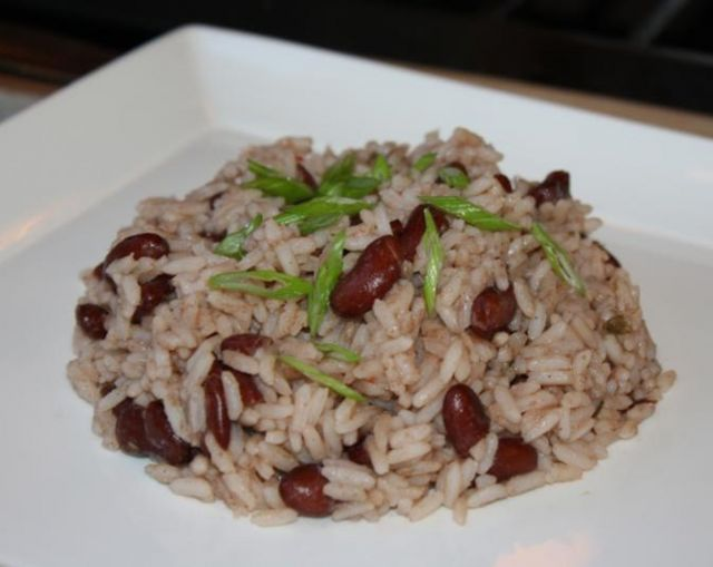 Large Rice & Peas