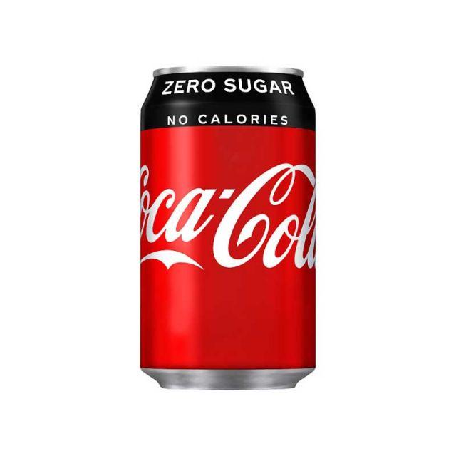 Coke Zero Can 330ml