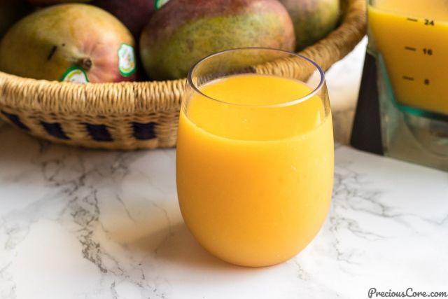 Fresh Mango & Apple Juice