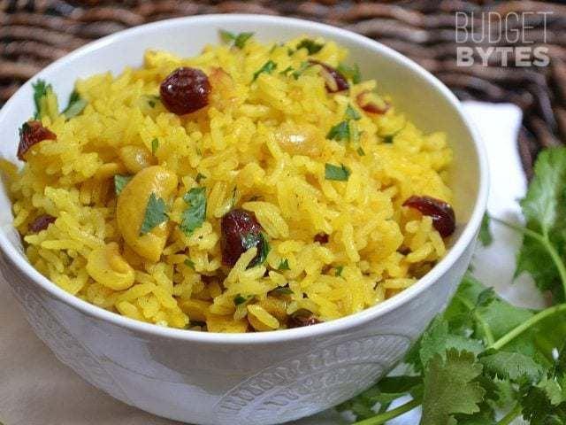 Cashew Nuts Pilau Rice