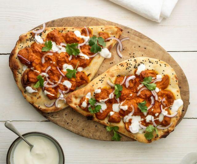 Chicken Tikka Naan Bread