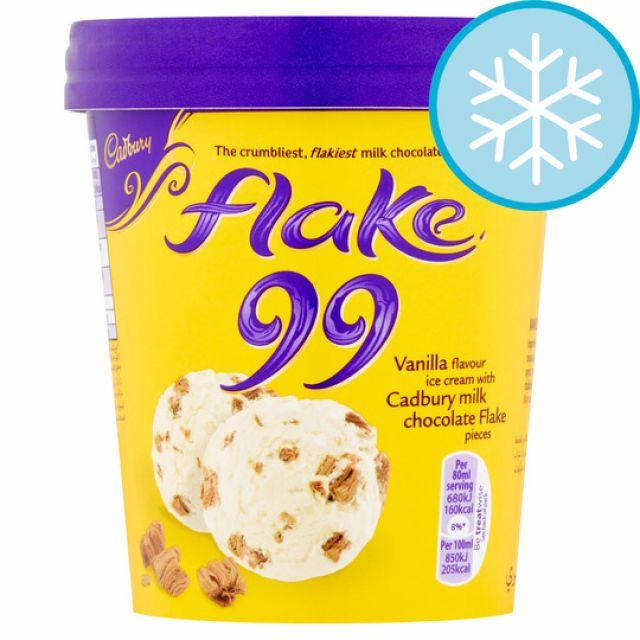 Cadburys Flake Ice Cream