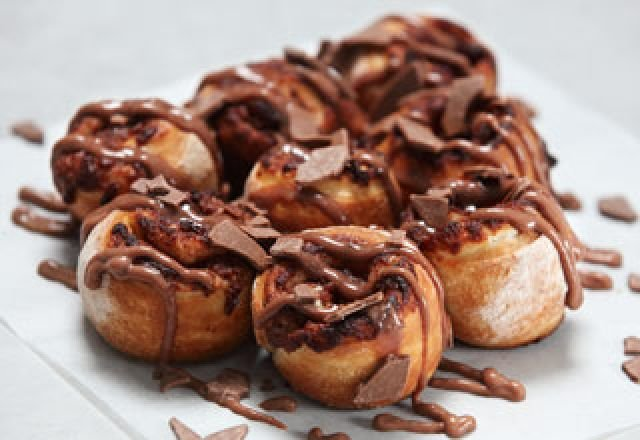 Chocolate Scrolls
