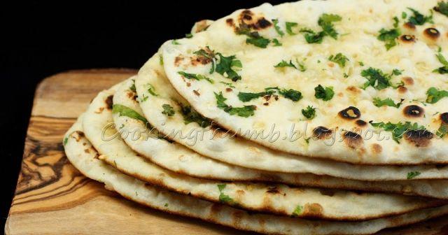 Chilli and Garlic Naan