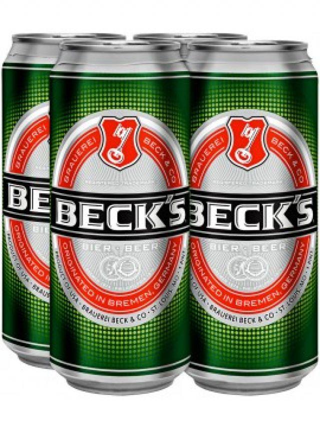 Becks 4 Cans Pack