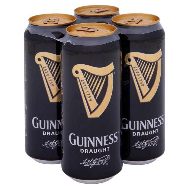 Guinness 4 Cans Pack