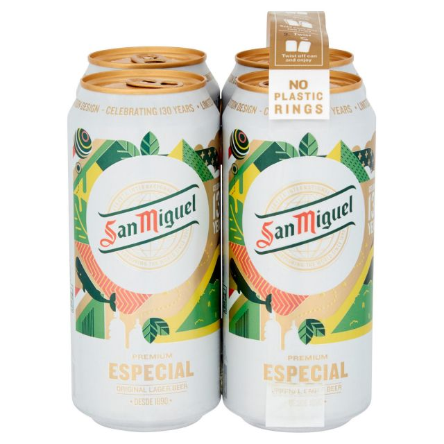 San Miguel 4 Cans Pack