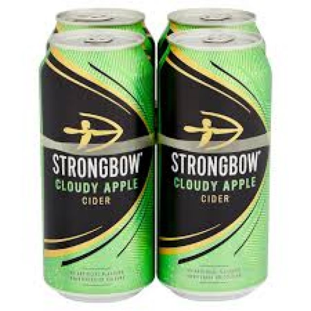 Strongbow Cloudy Apple Cider 4 Cans Pack