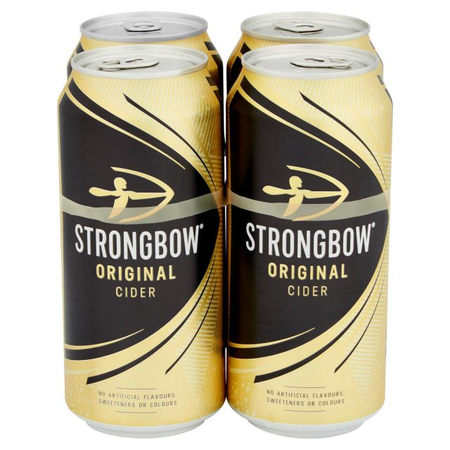 Strongbow Original Cider 4 Cans Pack