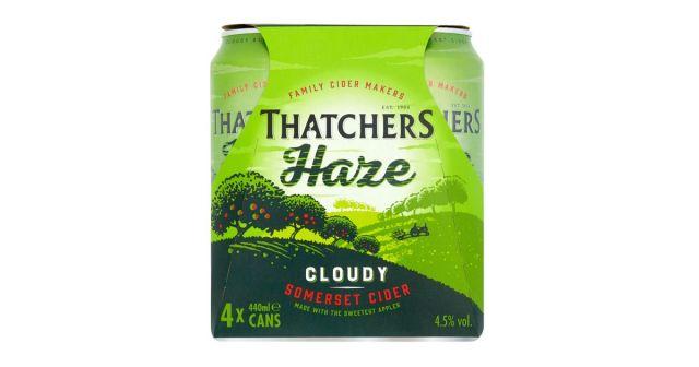 Thatcher Haze Cider 4 Cans Pack