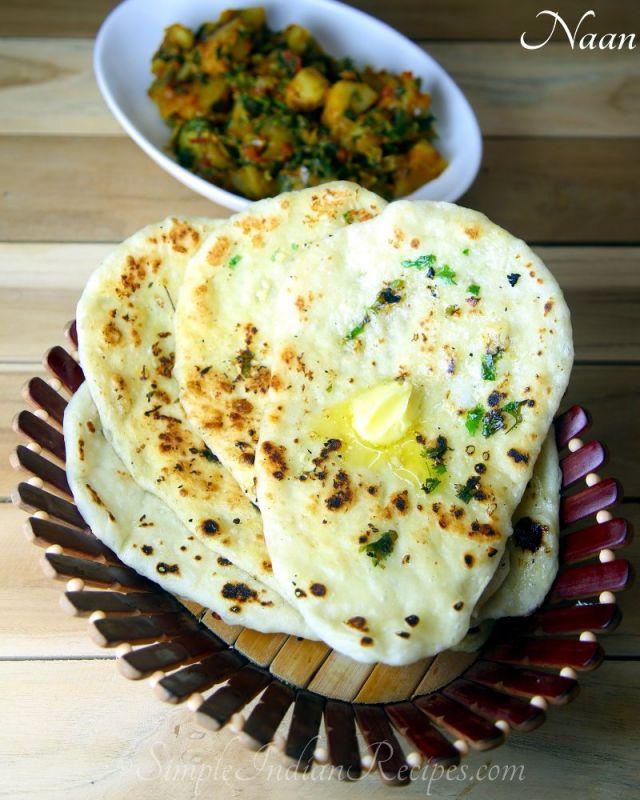 Plain Butter Naan
