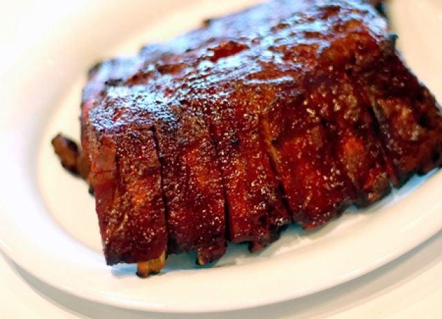 BBQ Pork Ribs Meal