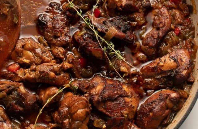 Boneless Stew Chicken Meal