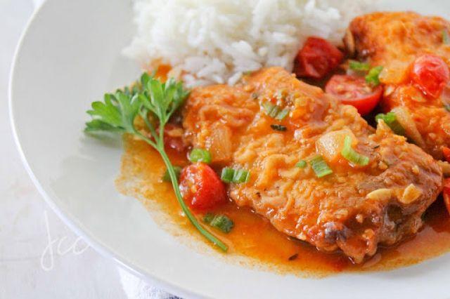 Stew Fish Fillet Meal