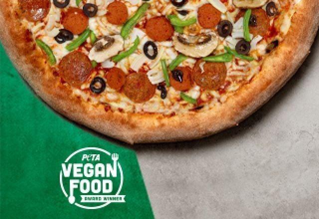 Vegan Works Pizza