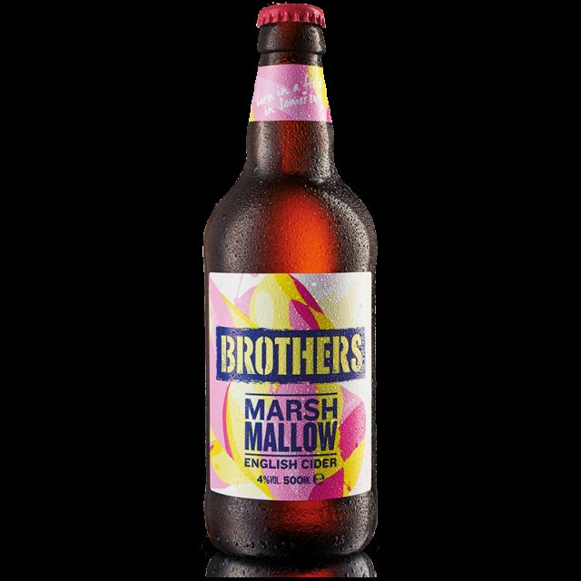 Brother Marshmallow 500ml Cider Bottle