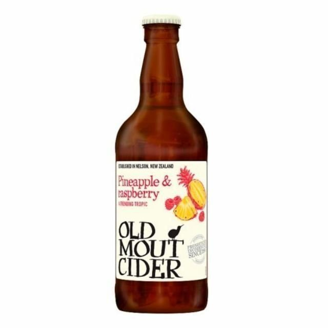 Old Mout Pineapple & Raspberry 500ml Bottle