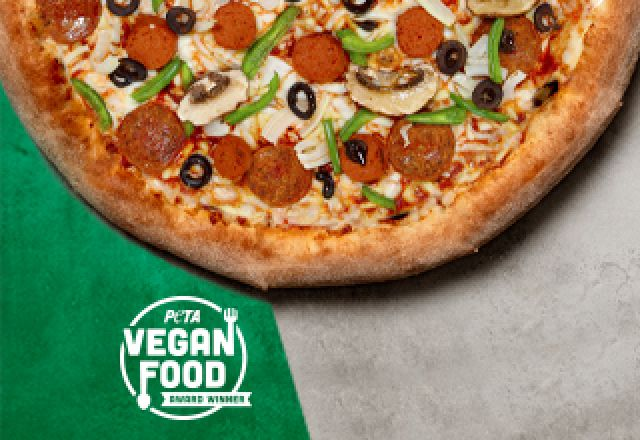 Vegan Works Pizza