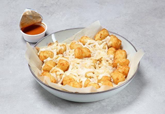 Vegan Cheese Potato Tots