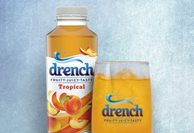 Drench Tropical 500ml Bottle