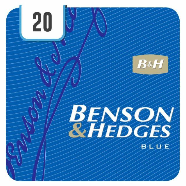 B&H Blue KS Cigarettes