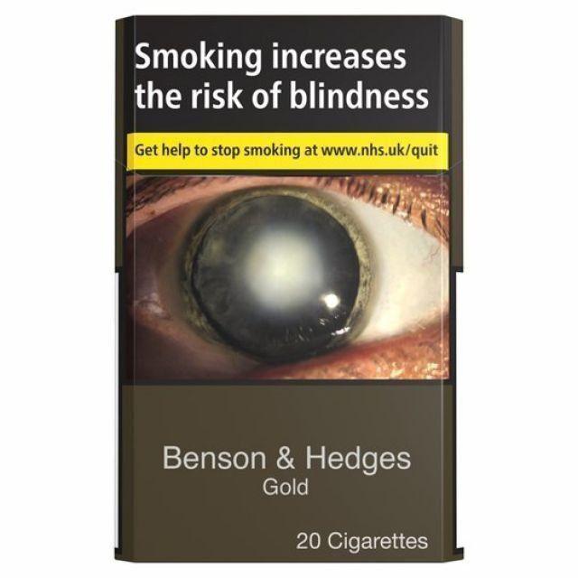 B&H Gold KS Cigarettes