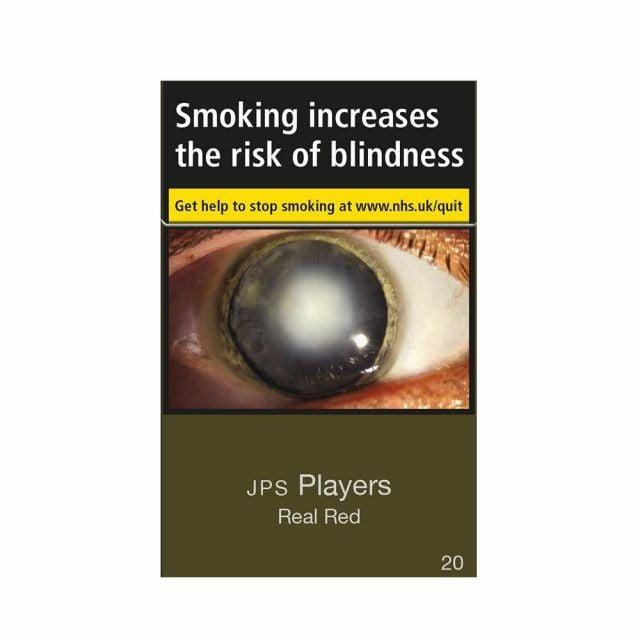 JPS Player Real Red KS Cigarettes