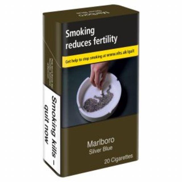 Marlboro Silver KS Cigarettes