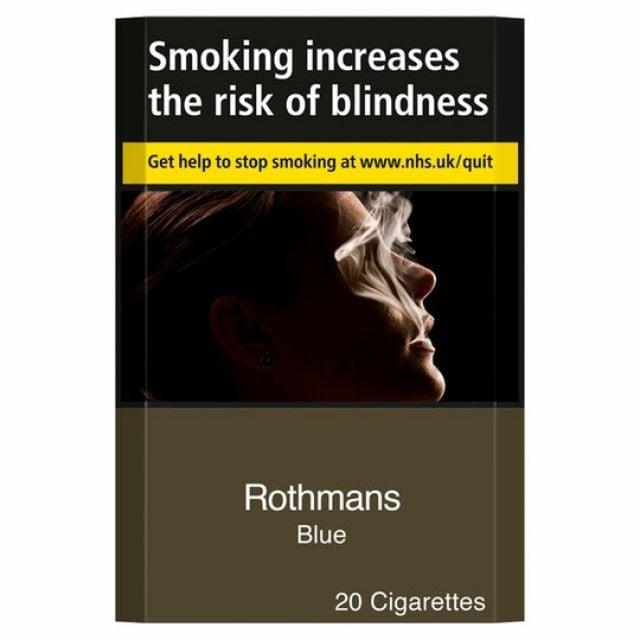 Rothmans Blue KS Cigarettes