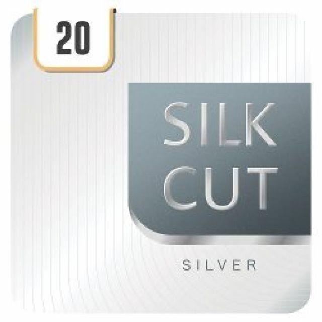 Silk Cut Silver KS Cigarettes