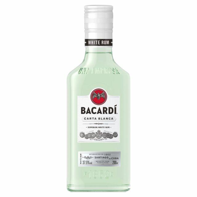 Rum Bacardi Carta Blanca 20cl