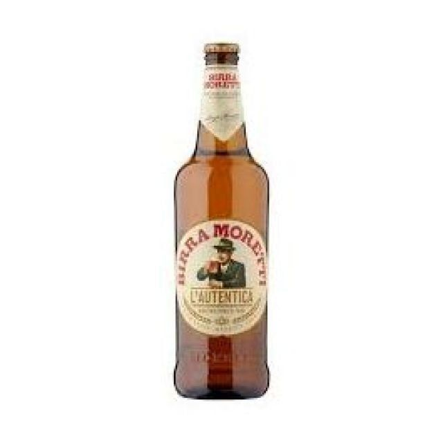Bira Moretti 660ml Bottle
