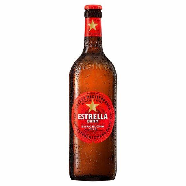 Estrella Damm 660ml Bottle