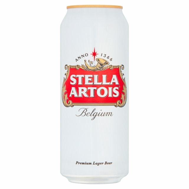 Stella Artois 500ml Cans