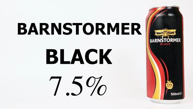 Barnstormer Black 500ml Can