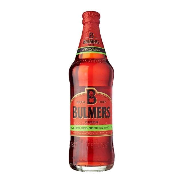 Bulmers Red Berries & Lime 500ml Bottle
