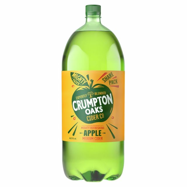 Crumpton Oaks Apple Cider 2.5L Bottle