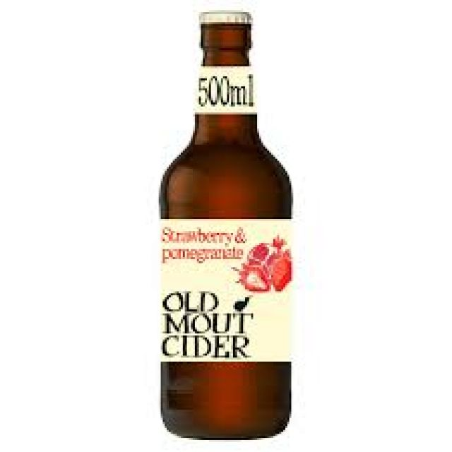 Old Mout Strawberry & Pomegranate 500ml Bottleate