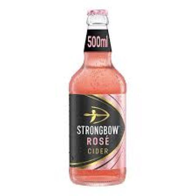 Strongbow Rosé Cider 500ml Bottle