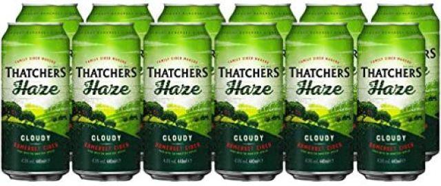 Thatchers Haze 440ml Cans