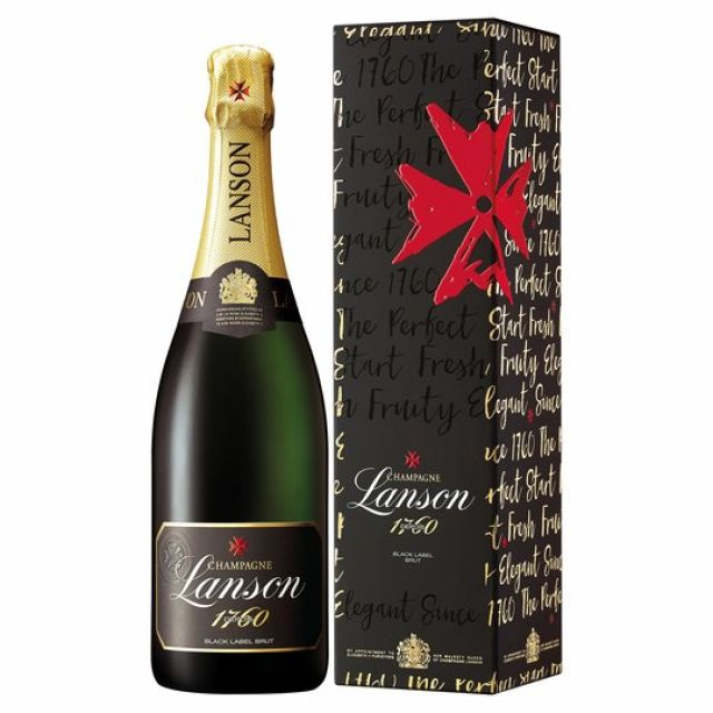 Lanson Champagne Black Label 75cl