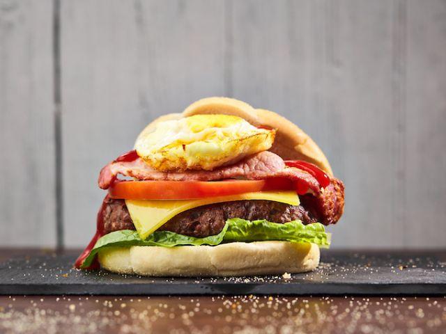 Morning Mouthful Burger