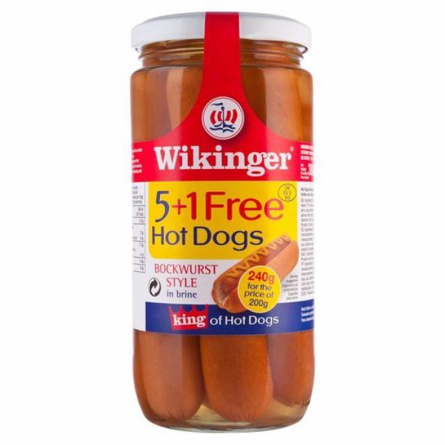 Hot Dogs 5+1 Wilkinger Tin